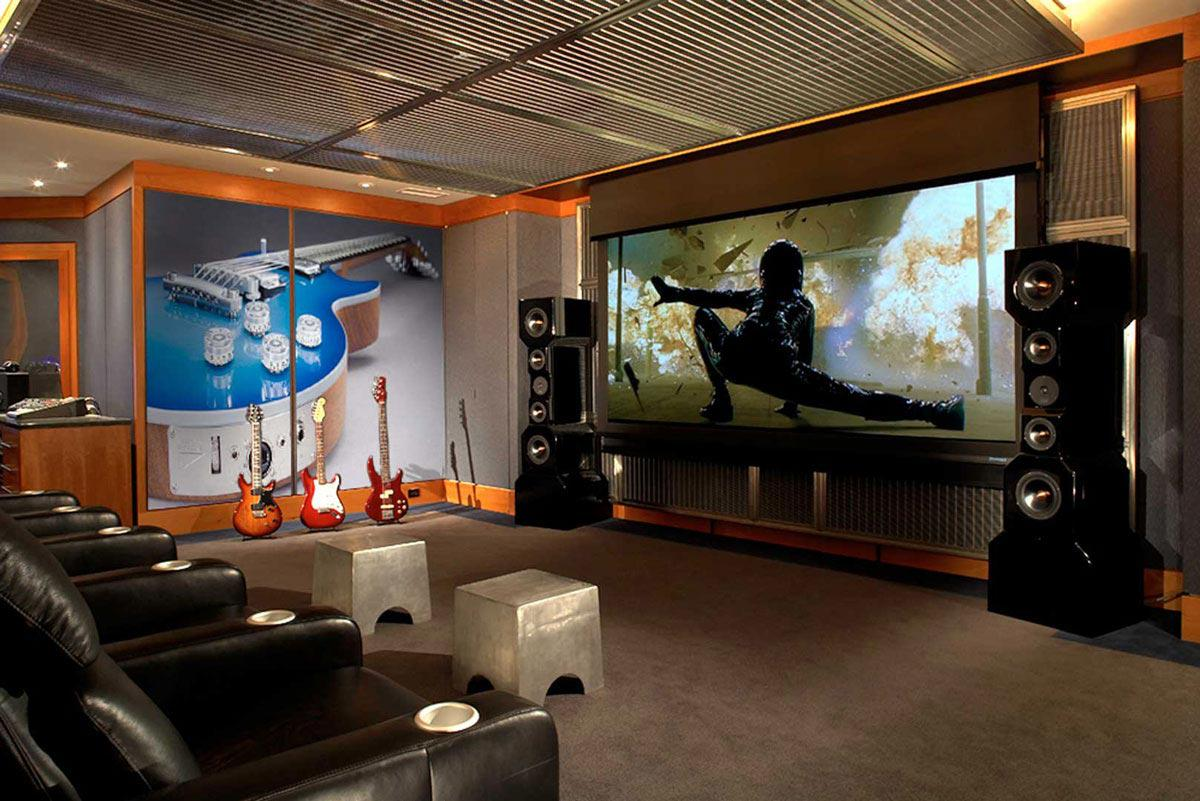 Image of: Home Theater Design Ideas